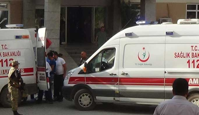 Siirt Eruh'ta bir şehit 4 yaralı