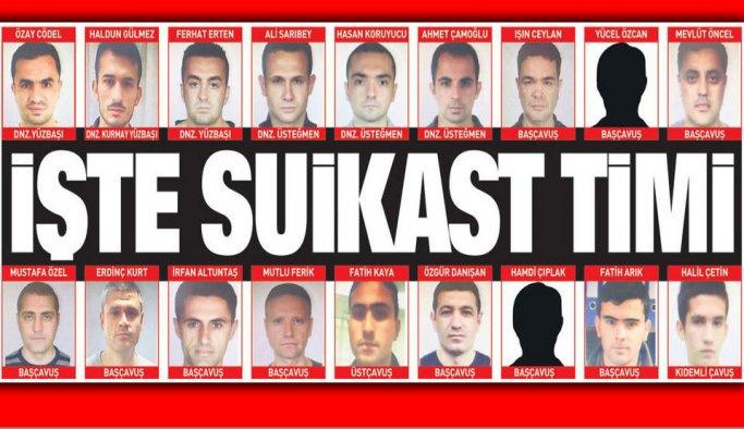 Yakalanan suikastçilerin sayısı 36'ya yükseldi