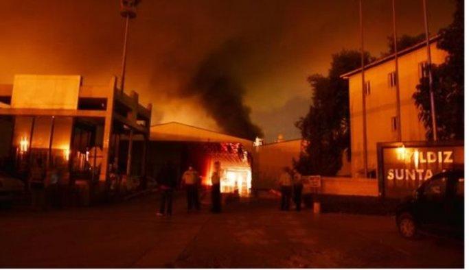 Sunta fabrikasındaki patlamada bir ölü