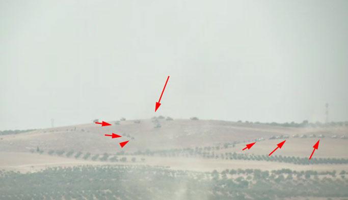 Suriye'deki Türk tanklarından ilk görüntüler VIDEO