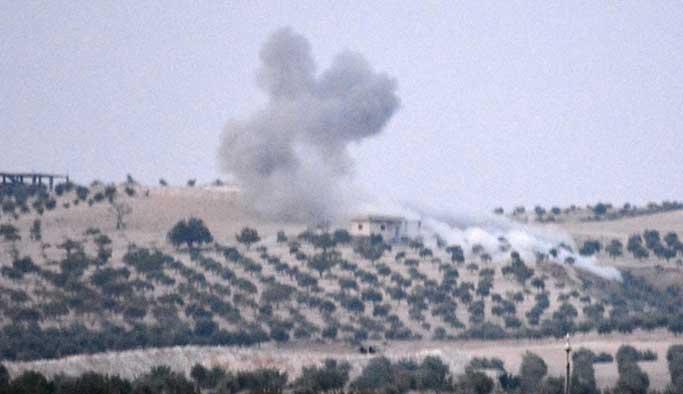 IŞİD'e ait 3 bina, bir araç imha edildi
