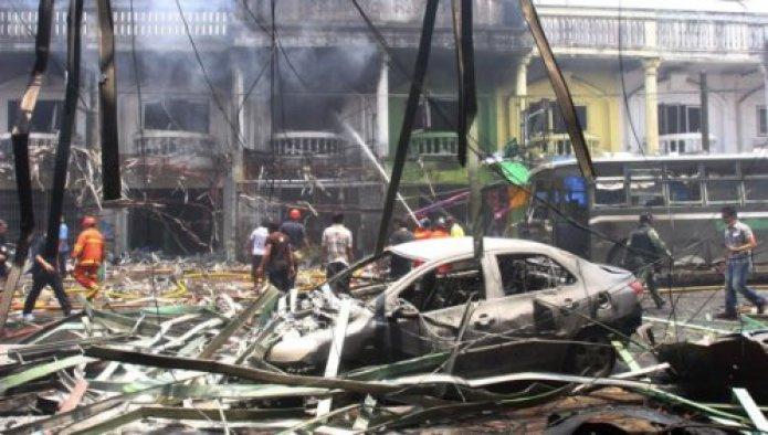 Tayland'da çifte patlama: 1 ölü,19 yaralı