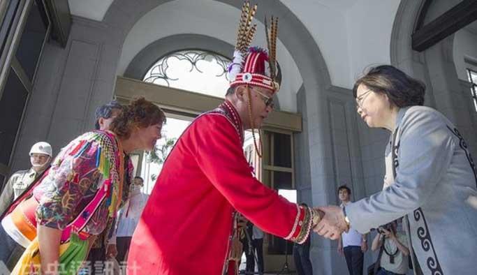 Tayvan devletinden 400 yıllık baskı için özür