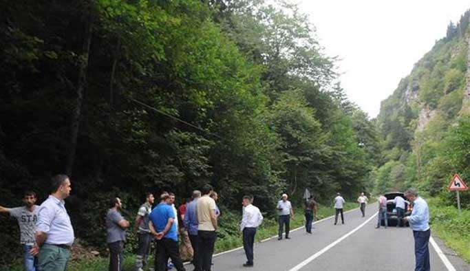 Terör örgütü Trabzon'da ortaya çıktı, çatışma yaşandı