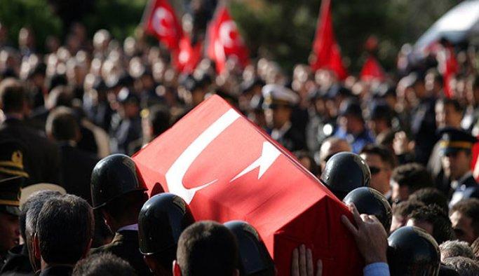 Terör saldırısında ölen Uzman Çavuş defnedildi