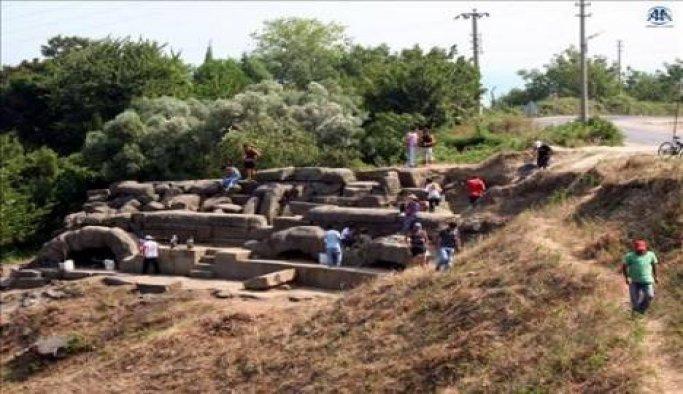 Tieion'da kazı çalışmaları başladı