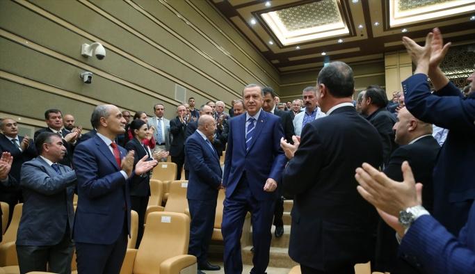 TİM üyeleri ile istişare toplantısı