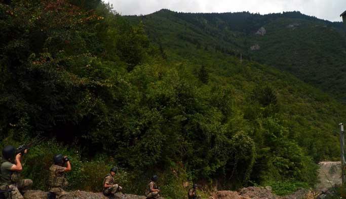 Trabzon'da dağlarında terör operasyonu