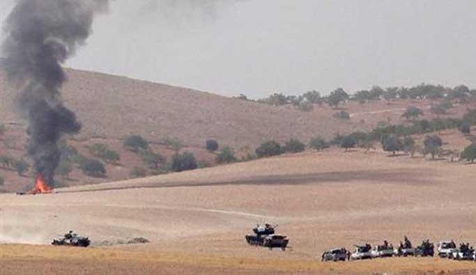 Türk jetleri Cerablus yakınlarında YPG'yi vurdu