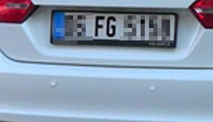 Türkiye genelinde 'FG' plakalar iptal