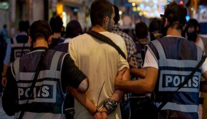Uşak'ta 11 kişi tutuklandı
