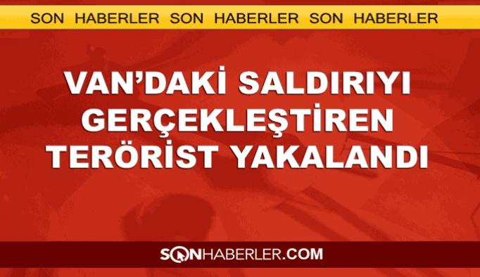 Van'daki saldırıyı gerçekleştiren terörist yakalandı