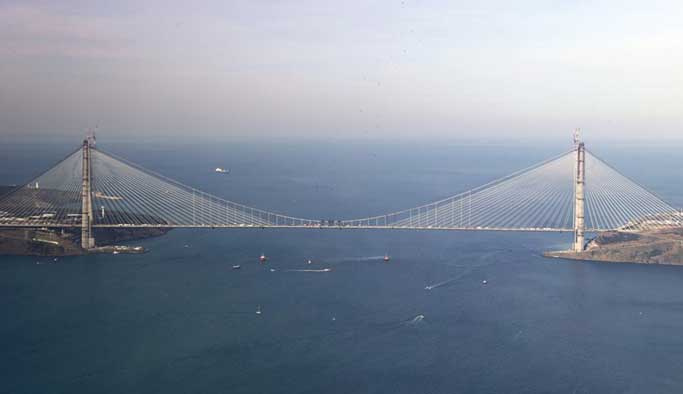 Yavuz Sultan Selim Köprüsü geçiş ücretleri açıklandı