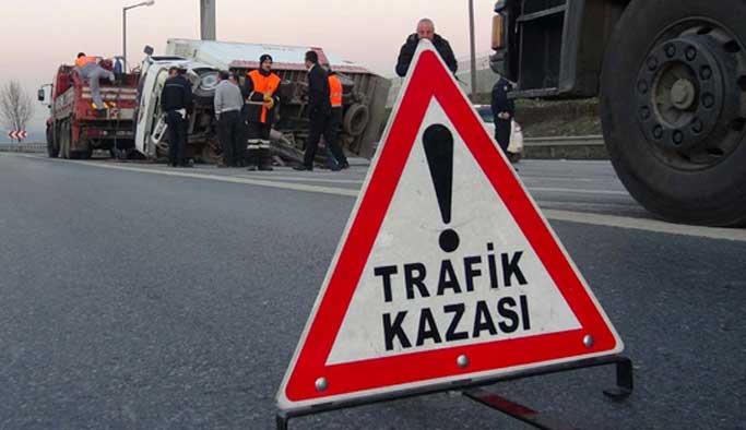 Yavuz Sultan Selim Köprüsü yolunda ilk trafik kazası