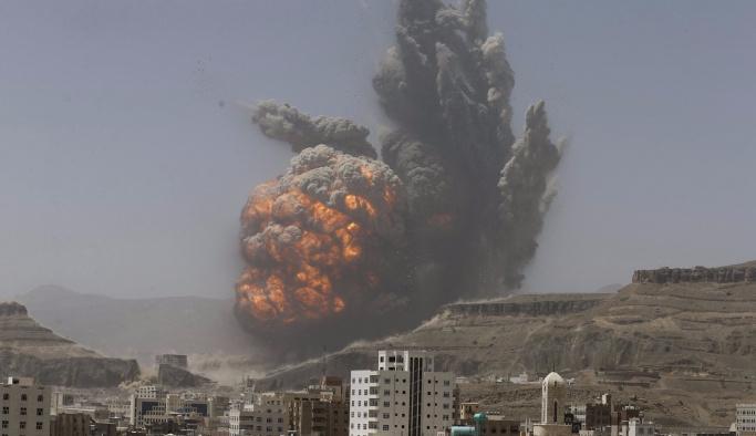 Yemen'de hava saldırısı, ölü ve yaralılar var