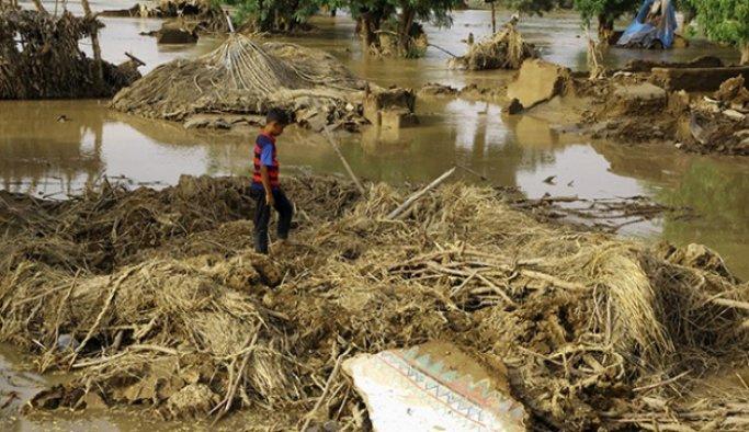 Yemen'de şiddetli yağış