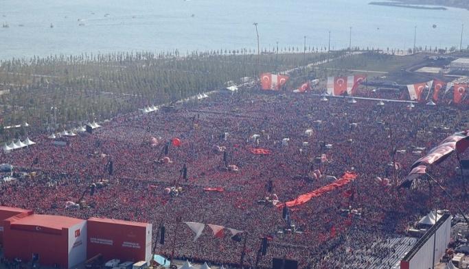 Yenikapı'daki tarihi program başladı