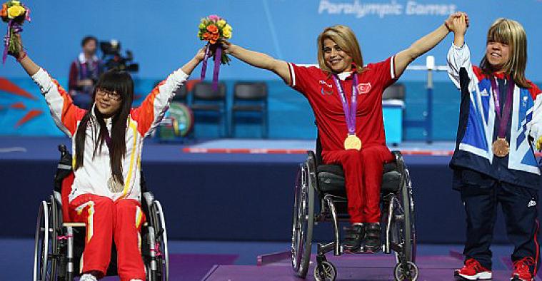 2016 Rio Paralimpik Oyunlarında Türkiye yükseldi