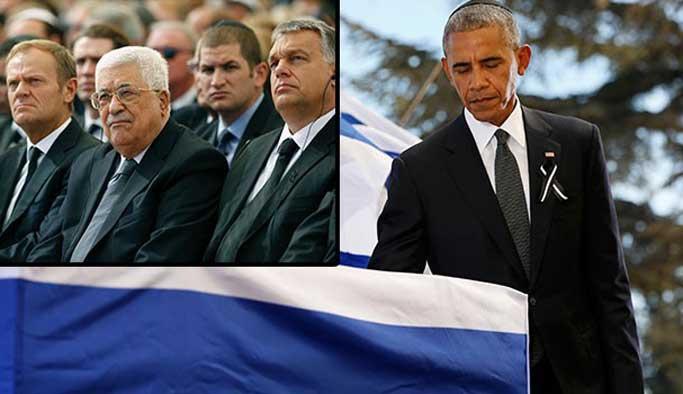 Abbas ve Obama dahil hepsi İsrail'de sıraya girdi