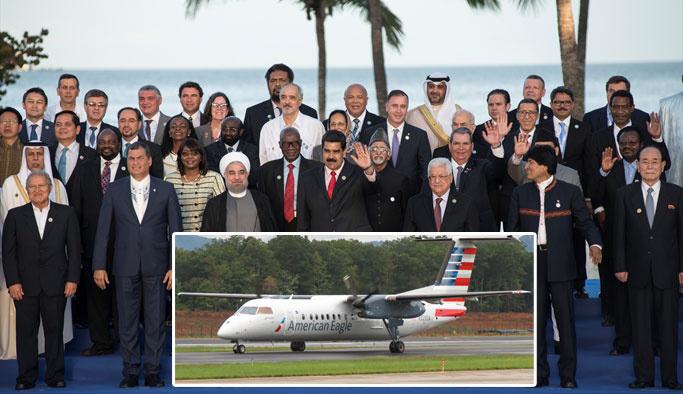 ABD, Venezuela'daki liderler zirvesini dinlemiş