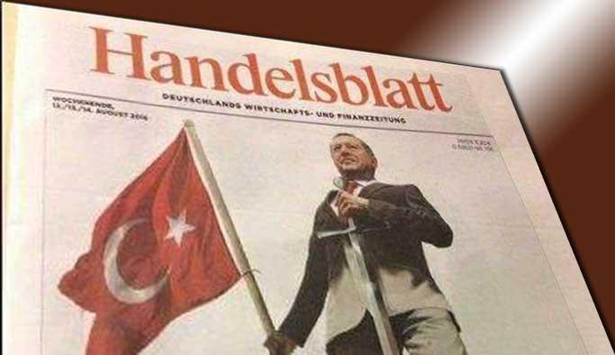 Alman basınından Erdoğan'a bir hakaret daha