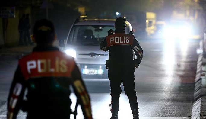 Ankara'daki huzur operasyonunda 101 gözaltı