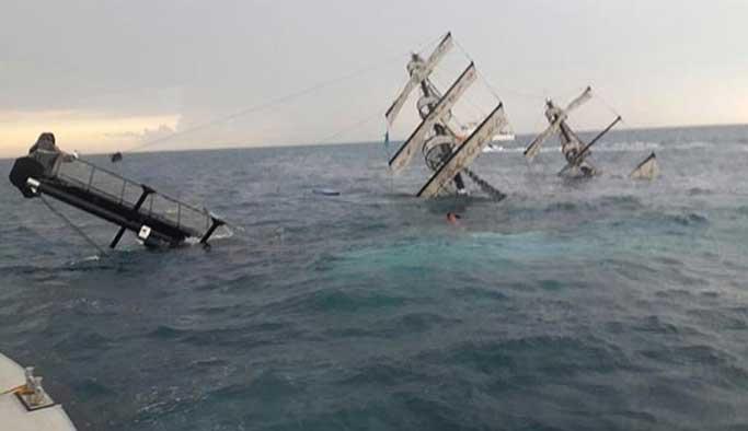 Antalya'da batan teknenin kaptanı tutuklandı