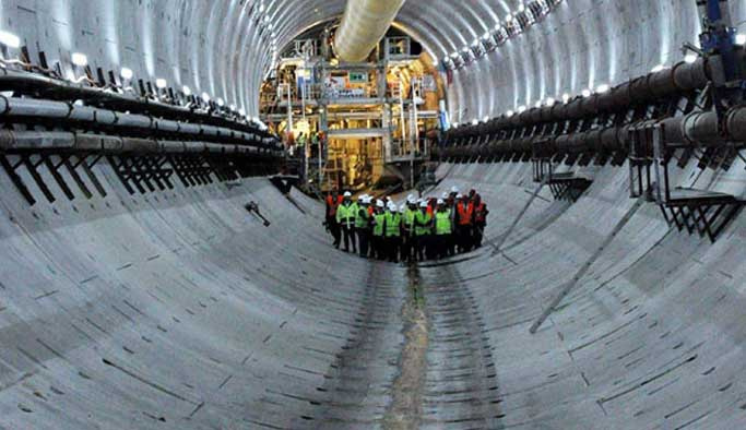 Avrasya Tüneli inşaatında akıma kapılan işçi öldü
