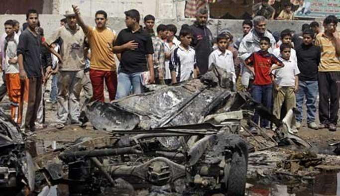 Bağdat'ta üç ayrı noktada bombalı saldırı