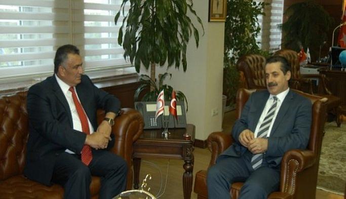 Bakan Çelik, Doğal Kaynaklar Bakanı ile görüştü