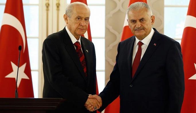 Başbakan Yıldırım, Bahçeli ile telefonda görüştü