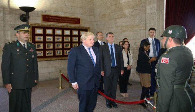 Başbakan Yıldırım, İngiltere Dışişleri Bakanını kabul etti