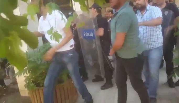 Batman ve Hakkari'de polis HDP'lilere müsaade etmedi