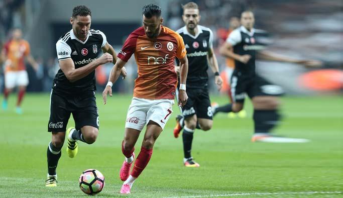 Beşiktaş Galatasaray maçı 2-2 bitti