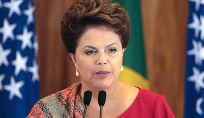 Brezilya'da Rousseff'in azli protesto edildi