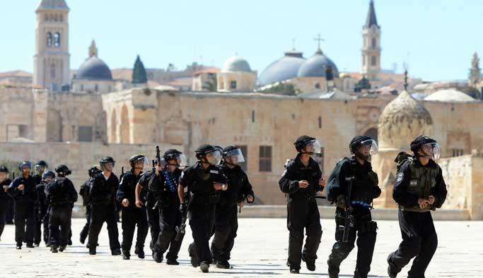 Bu yıl 10 bin İsrailli Mescid-i Aksa'ya girdi