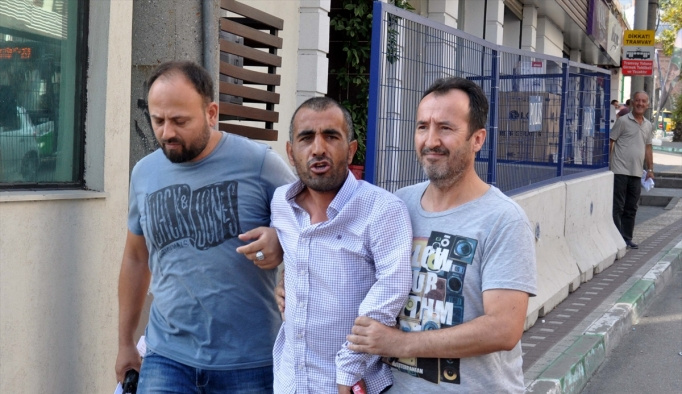 Bursa'da genç kızın gasbedilmesi kameralara yansıdı