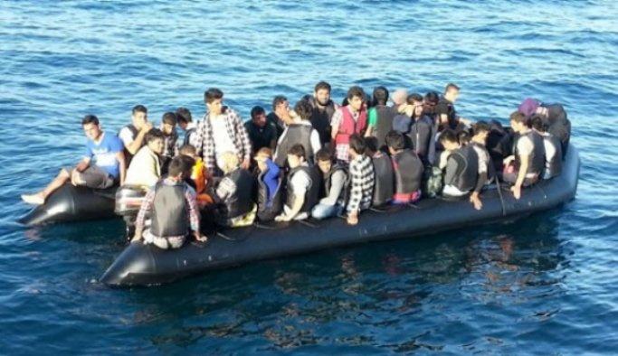 Çanakkale'de 50 yabancı uyruklu yakalandı