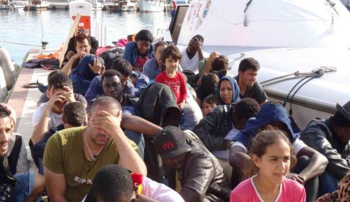 Çanakkale'de 91 yasa dışı göçmen yakalandı