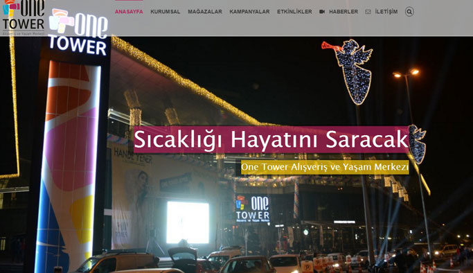 Çankaya'nın Alışveriş Merkezi One Tower!