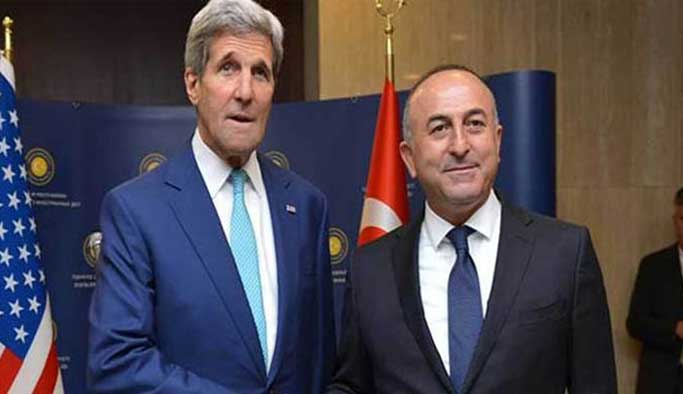 Çavuşoğlu, Çin'de Kerry ile görüştü