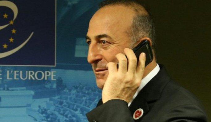 Çavuşoğlu, Kerry ile telefonla görüştü