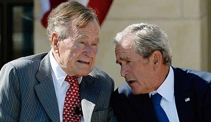 Cumhuriyetçi Bush, Demokrat Clinton'a oy verecek