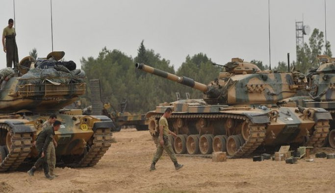 DAEŞ'e ait 4 havan ve 2 savunma mevzisi imha edildi