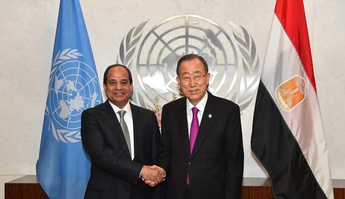 Darbeci Sisi BM Genel Kurulunda konuştu