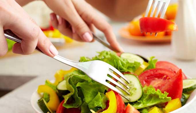 Dinç kalmak için yeşil sebze tüketmek şart