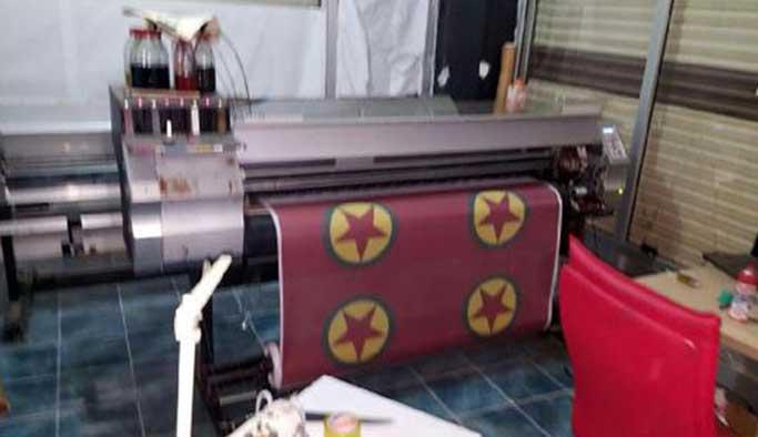 Diyarbakır'da PKK'nın matbaası bulundu