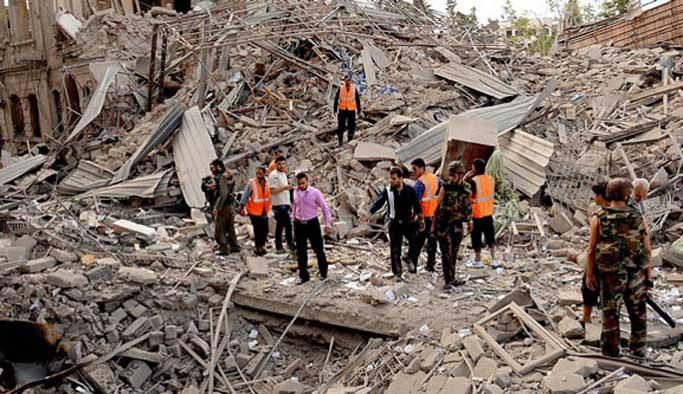 Doğu Guta'da saldırılar: En az 7 çocuk öldü