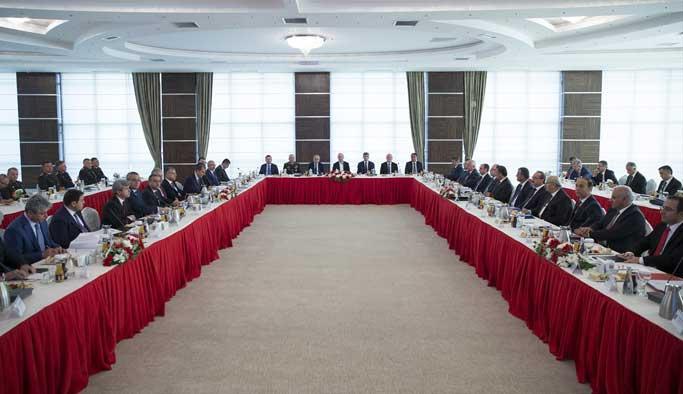 Doğu ve Güneydoğu valileriyle 9,5 saatlik toplantı