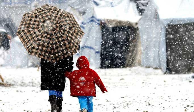 Doğuda kış, batıda ise bahar günleri